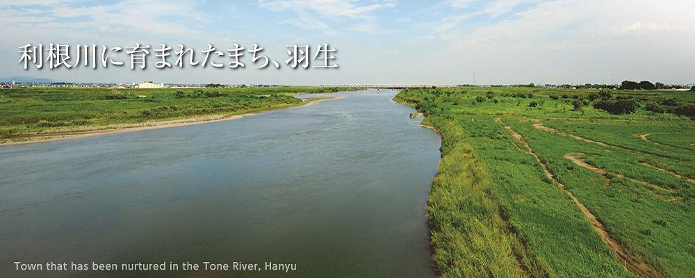 利根川に育まれたまち、羽生